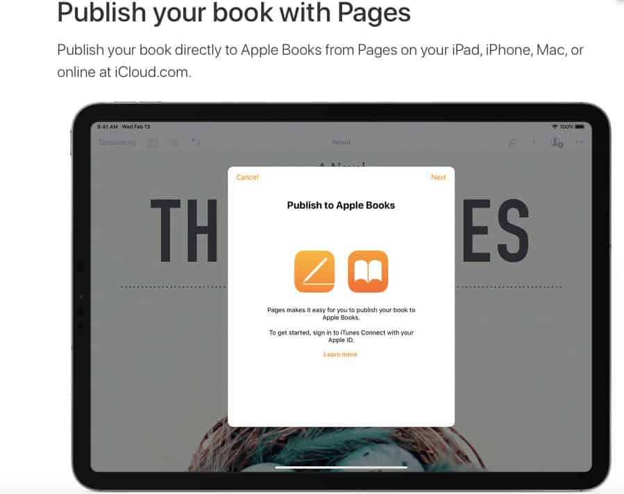 self publishing companies ibooks