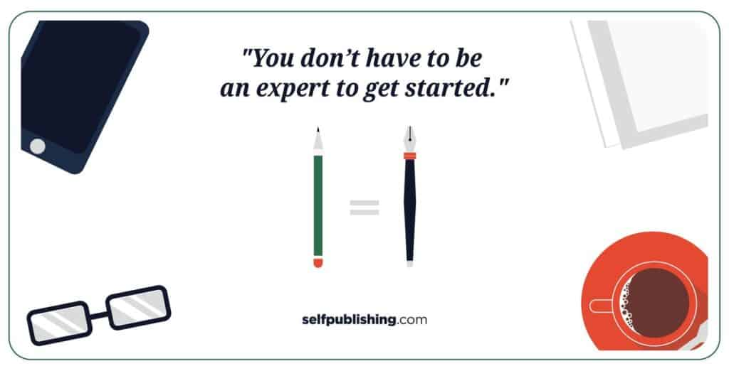 What should be in mind when writing a book